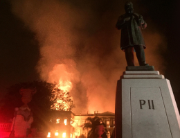 Fire at Museu Nacional
