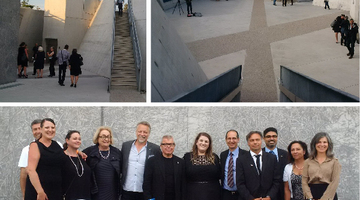 Inauguration of the National Holocaust Monument