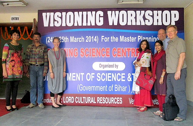 Visioning workshop for Bihar Science City