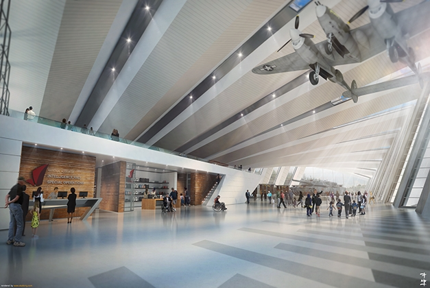 Rendering: Fentress Architects, National Museum of Intelligence and Special Operations